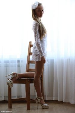 Silver-Starlets Alice - White Shorts 2 » X-TeenModels