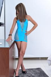 Silver-Dreams Candy - Blue Dress 1 - x109