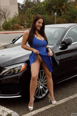 Angela white car